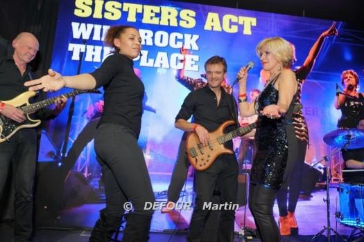 Sisters Act@Versluys Arena Oostende